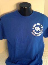 University of Kentucky Wildcat, T-shirt, Blue, mens, large, 2013