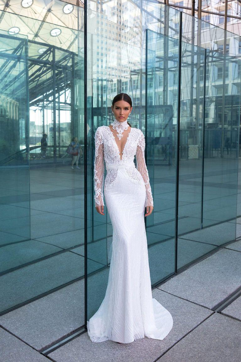 Crystal Design Suknie ślubne Długie Pinterest Wedding