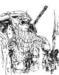 Michael Kirkbride is great. Dunmer wearing cool outfit