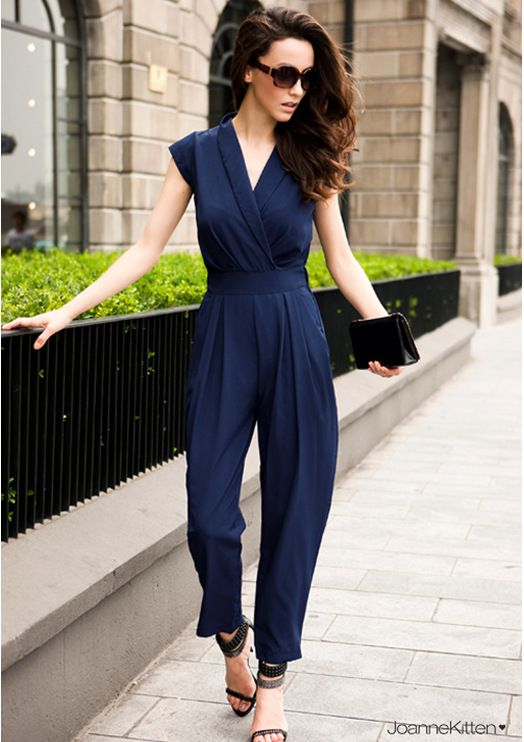 Jumpsuit Style 2015 | YM122 women 2013 summer autumn fashion ...