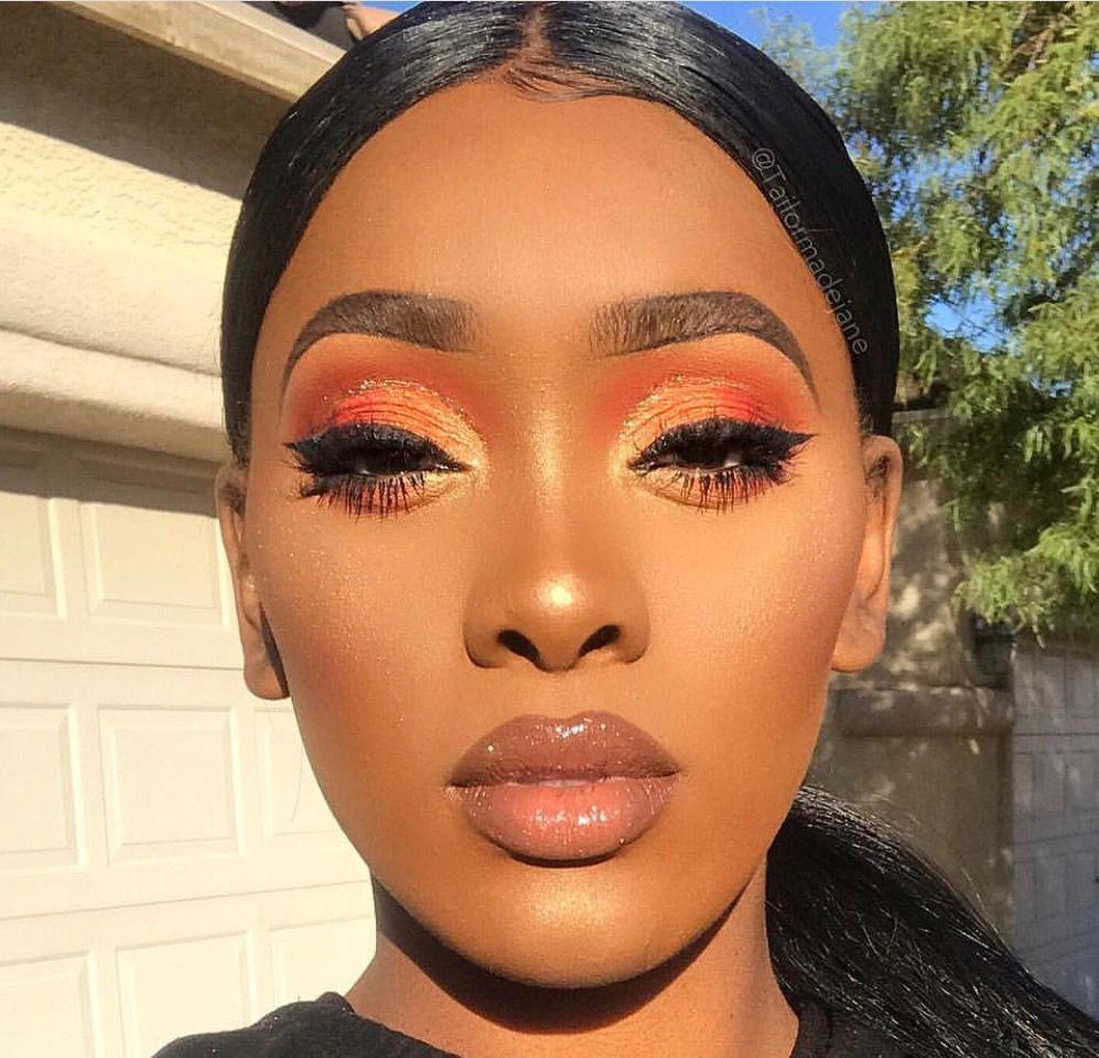 makeupideas eyes eyeshadow cutcrease Dark skin