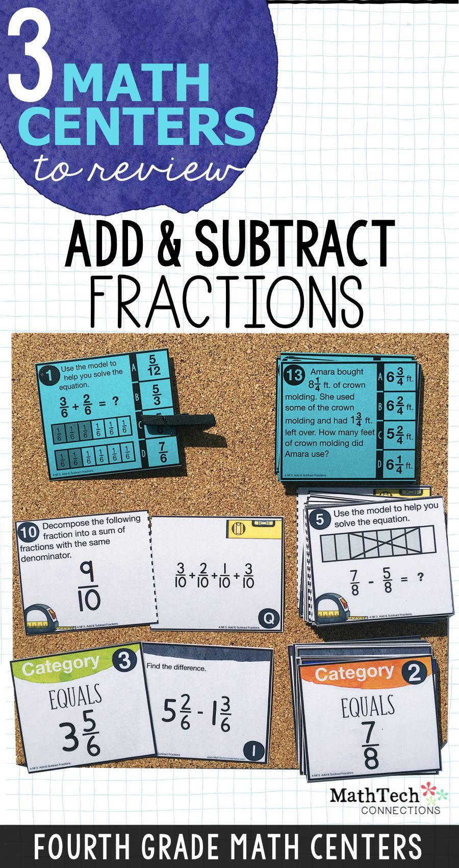 how to decompose a fraction into a sum