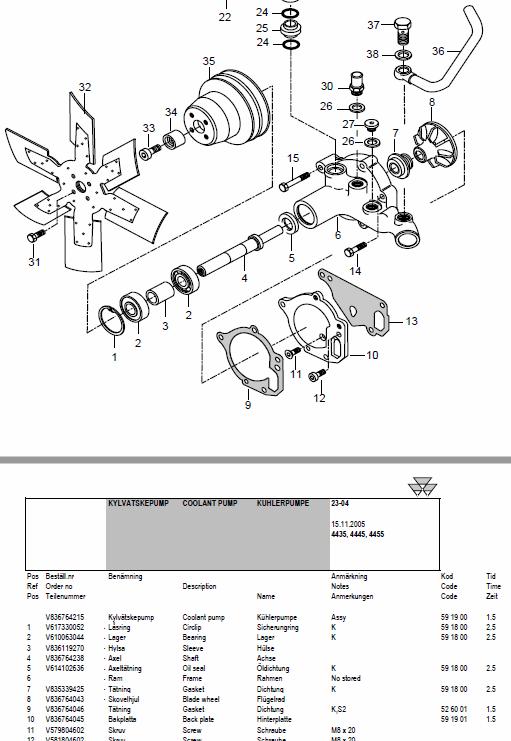 Massey Ferguson 4435 4445 4455 Tractor Service Manual Massey Ferguson Tractors Manual