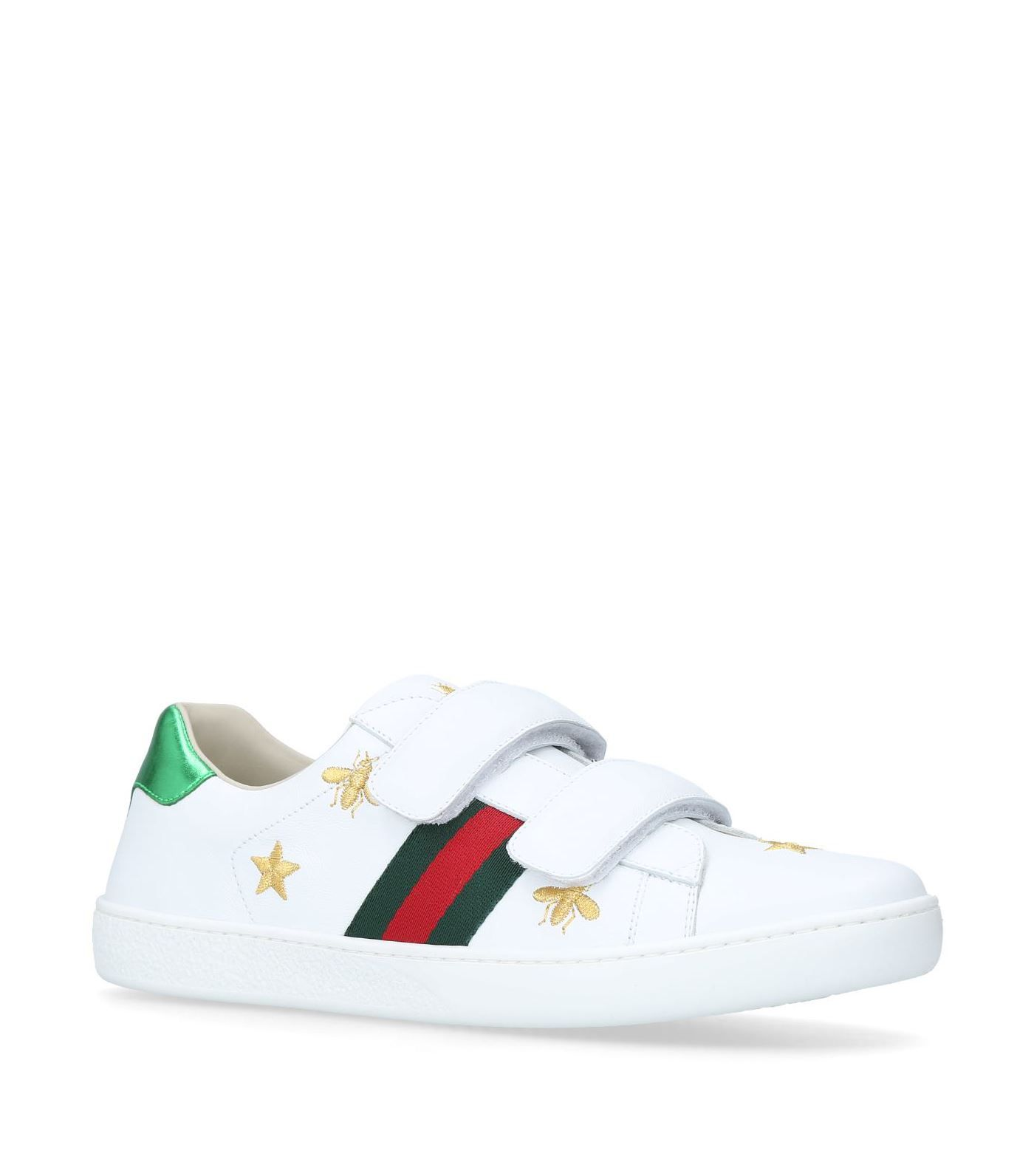 Gucci kids, Sneakers, Leather trainers
