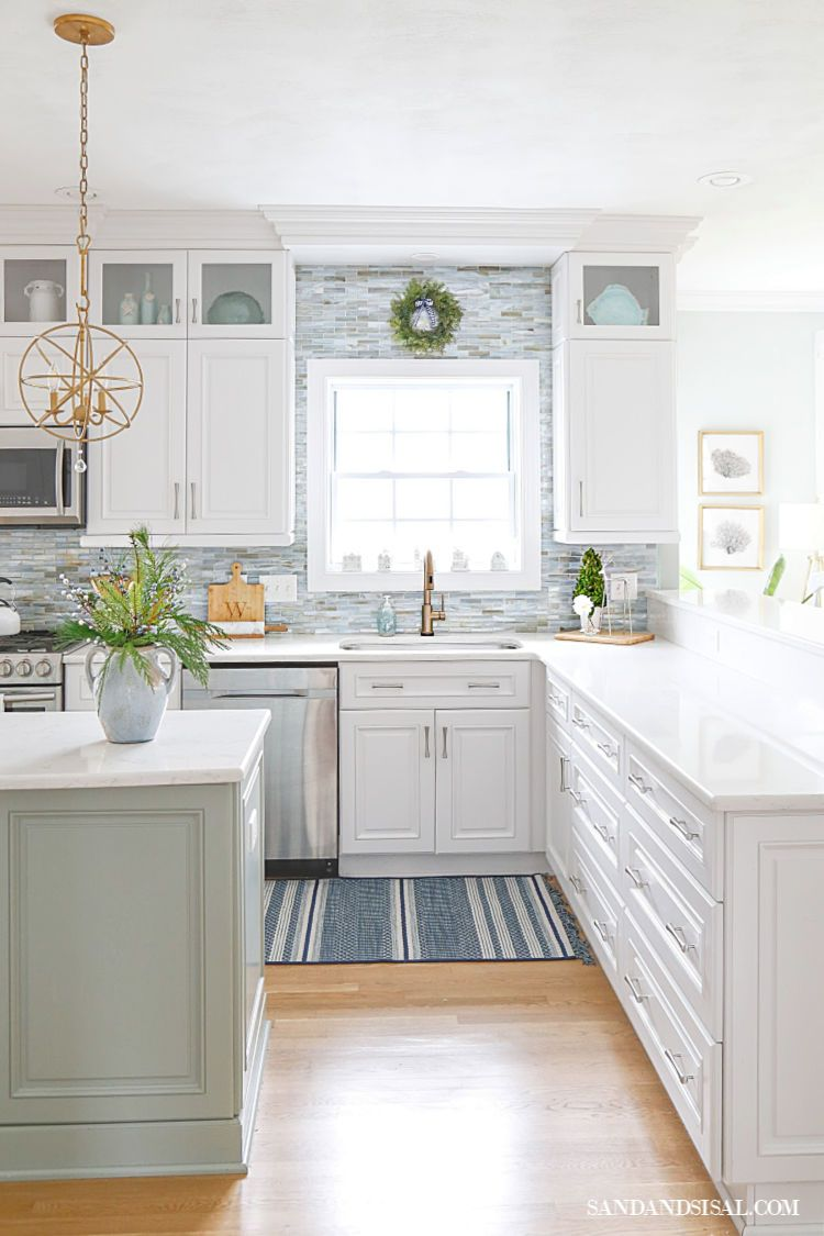 Best Christmas In The Coastal Kitchen Beach House Kitchens 400 x 300