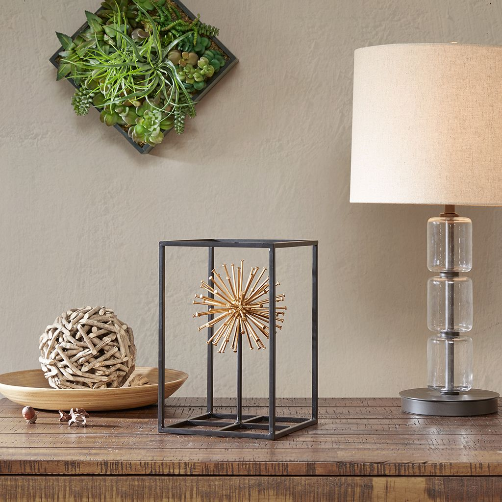 The INK+IVY Sunburst Decorative Object makes for a