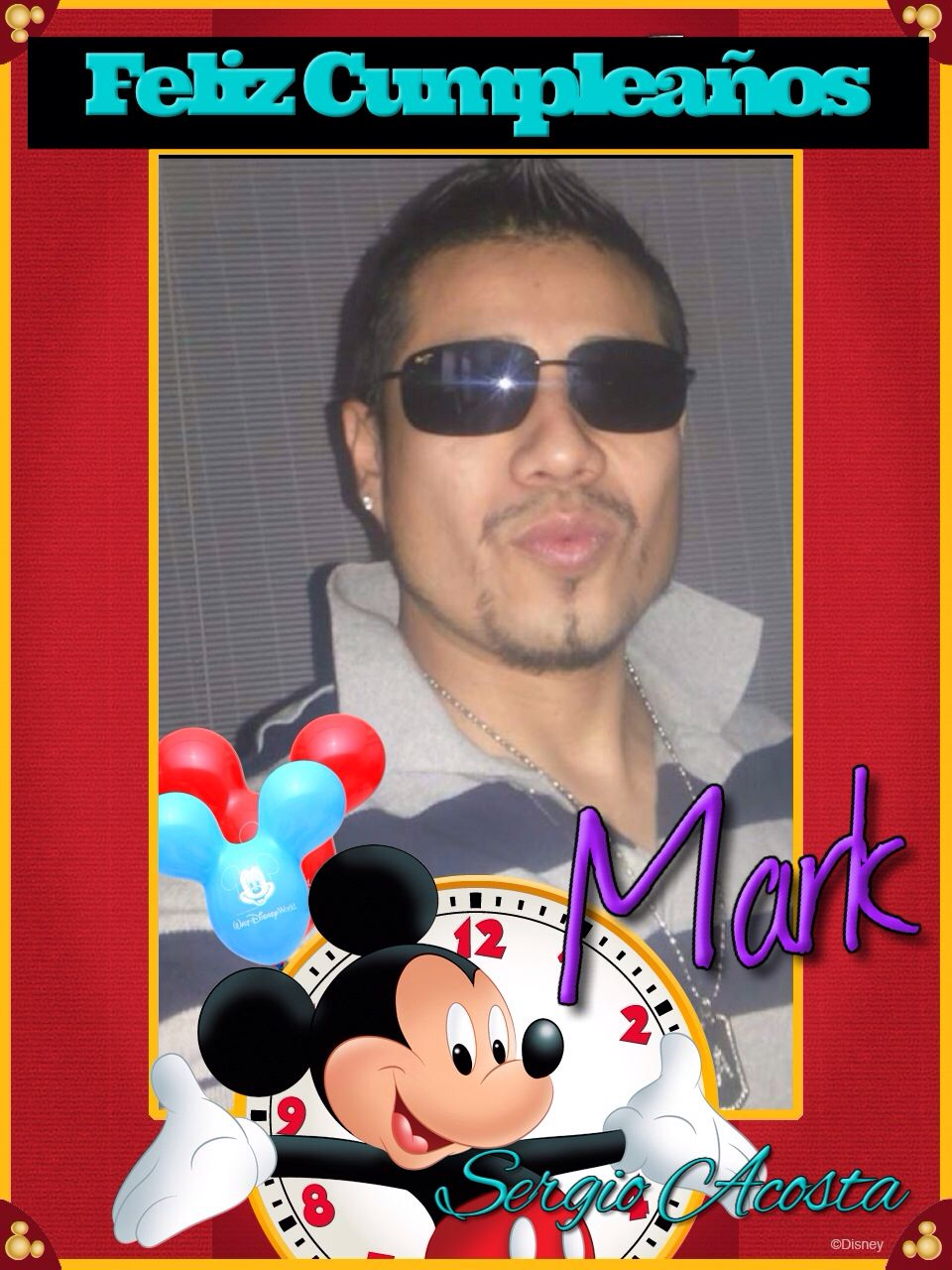 Felicidades Mark