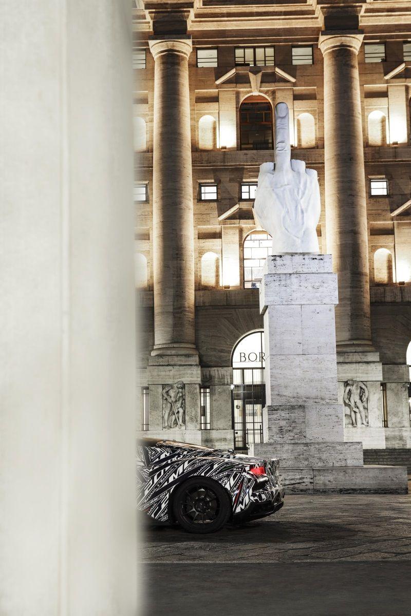 Maserati Teases Mc20 Supercar In 2020 Super Cars Maserati Super Sport Cars