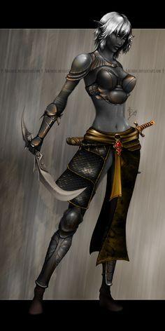 Delirium You dark elf woman nude really