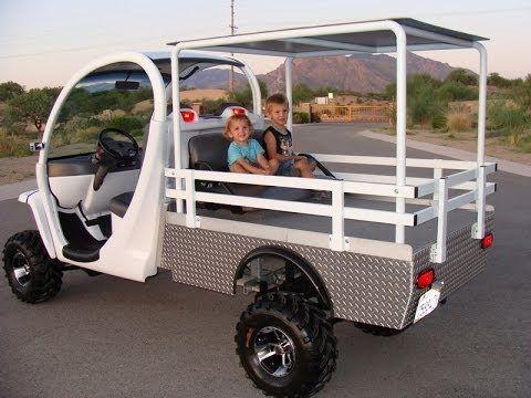 Innovation Motorsports 2000 Gem Car 72v Electric Golf Cart Nev Massive 12 Lift Monster Gem Flames Electric Golf Cart Gem Cars Golf Carts