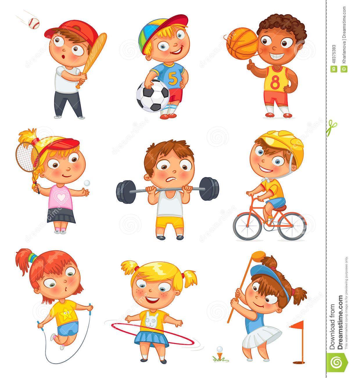 Ninas Y Deporte Buscar Con Google Funny Cartoon Characters Cartoon Kids Kids Cartoon Characters
