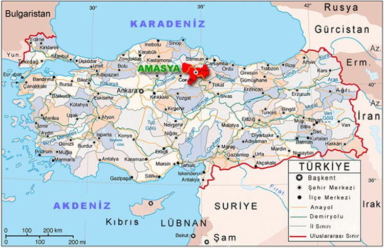 Throughout its history Amasya was a economic center marketing and