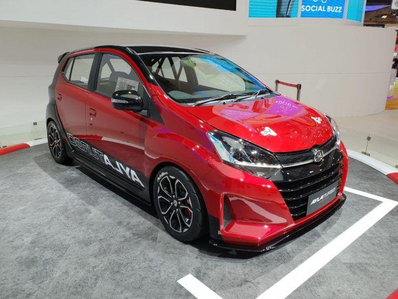 Hanya Pajangan Intip Spesifikasi Daihatsu Ayla Turbo Di Giias