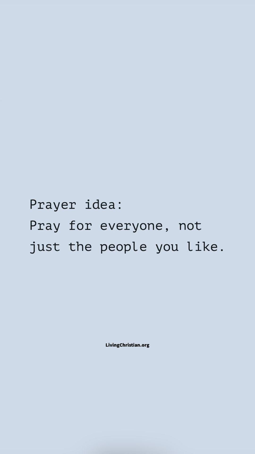 Prayer Tips