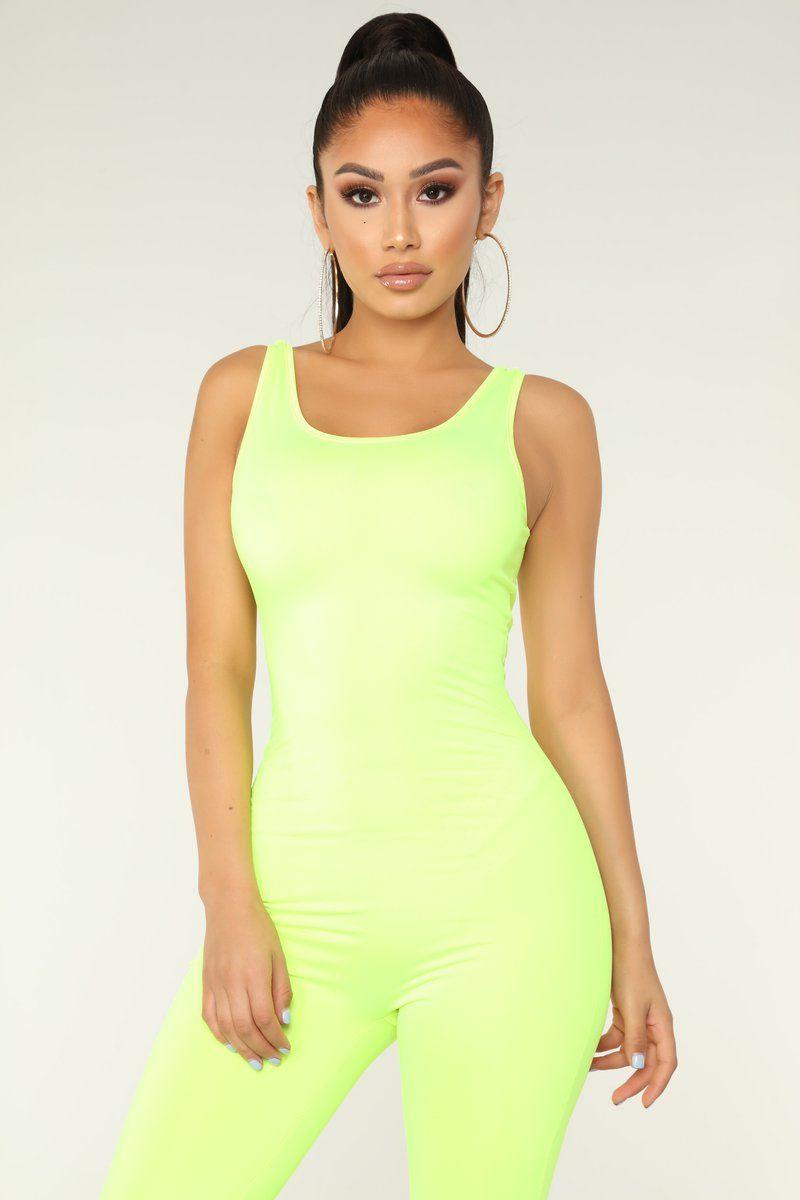 d222396f50eb Nova Boost Jumpsuit - Neon Yellow