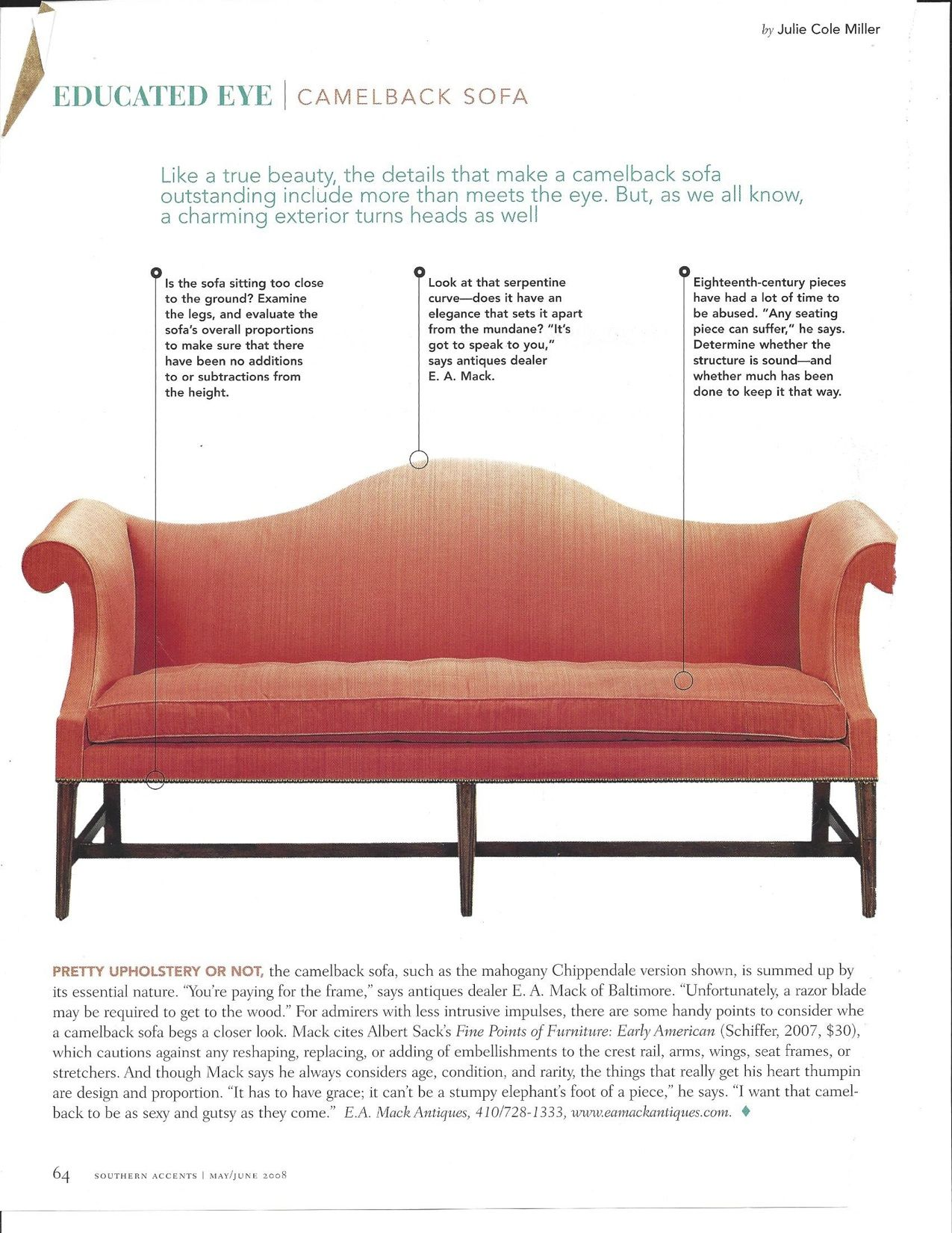 Camelback Sofa Camelback Chippendale Furniture Chippendale Chairs