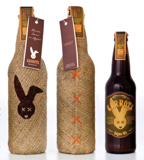Carrot Beer - Sleeves and specialty tags can be created for a collector's edition release of the product