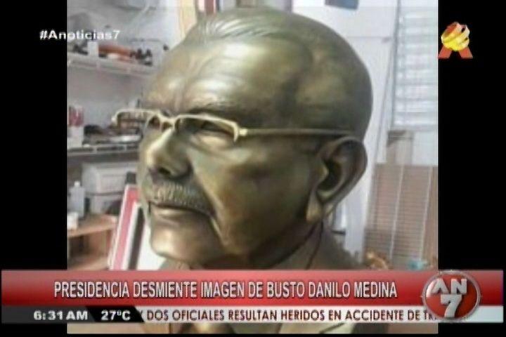Debate Del Día: Presidencia Demiente Imagen De Busto Danilo Medina