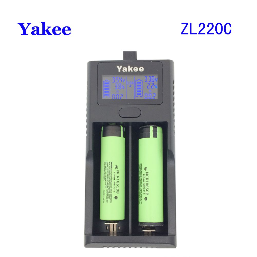 Yakee Zl220c Smart Lcd Usb Battery Charger For Li Ion 26650 18650 Lithium Battery Click Visit To Buy From Battery Usb Charger Battery Charger Lithium Battery