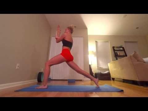15 minute easy shoulder stretch  strengthen yoga flow