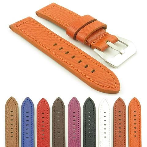3cbbfbb76 Panerai Dassari Watch Strap Thick Textured Leather | Panerai ...