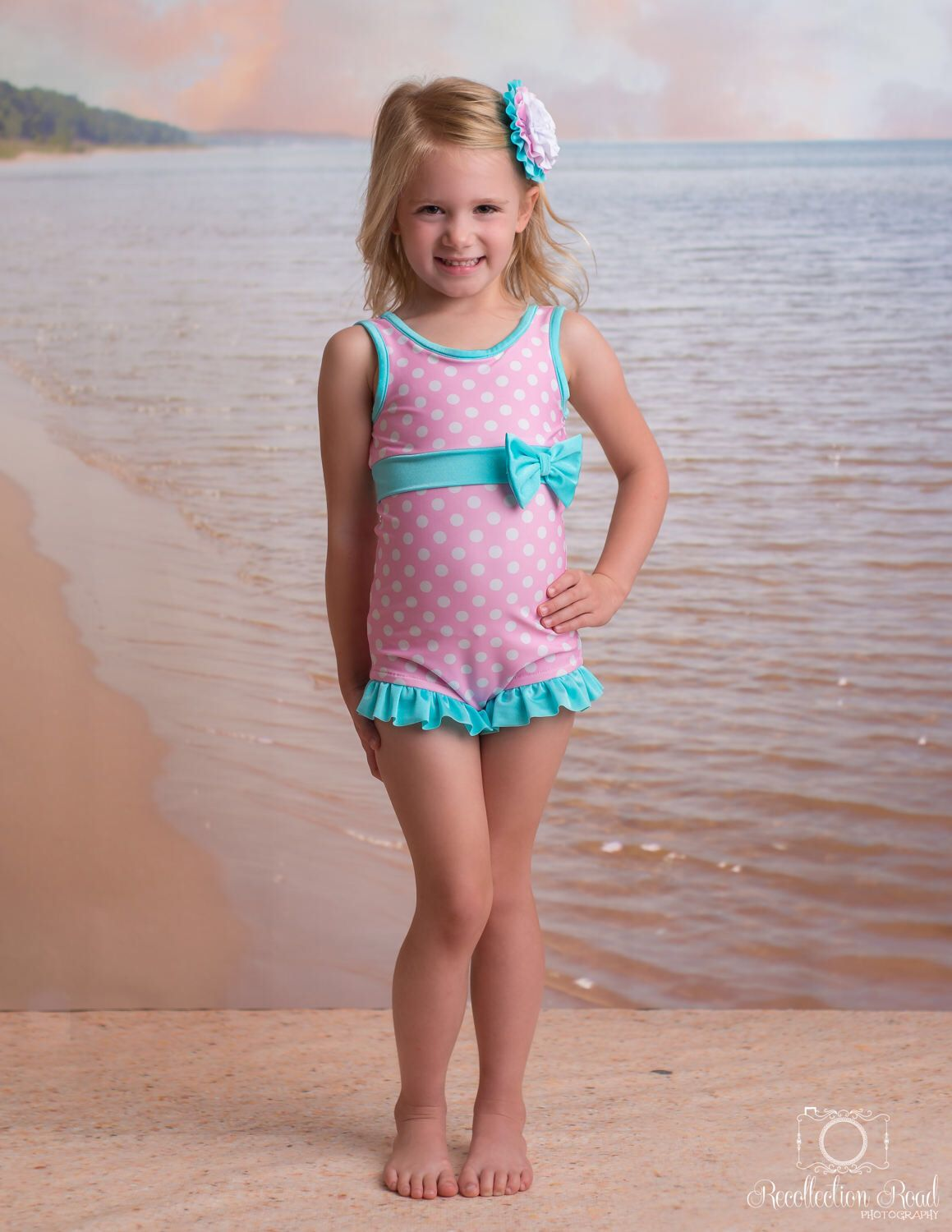 36da50c1f76f7 Margaret Swimsuit in Cotton Candy: SS17 Collection (Size 12/18 month-8