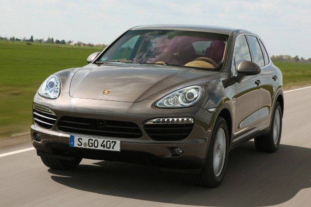 Porsche Cayenne I Like The Color Umber Metallic Think
