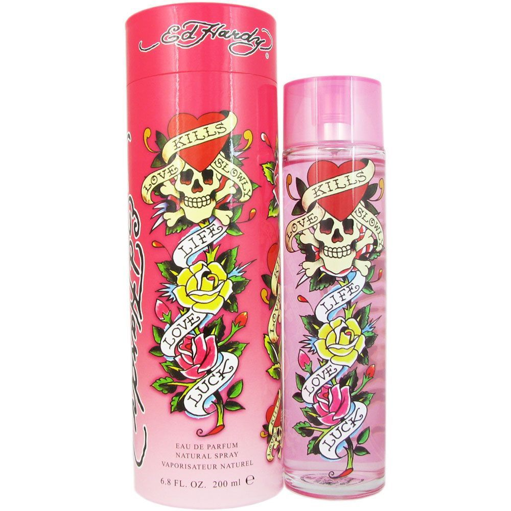 christian audigier ed hardy women 39 s 6 8 ounce eau de. Black Bedroom Furniture Sets. Home Design Ideas