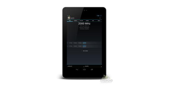 Google Nexus 7 overcloccato a 2.0GHz