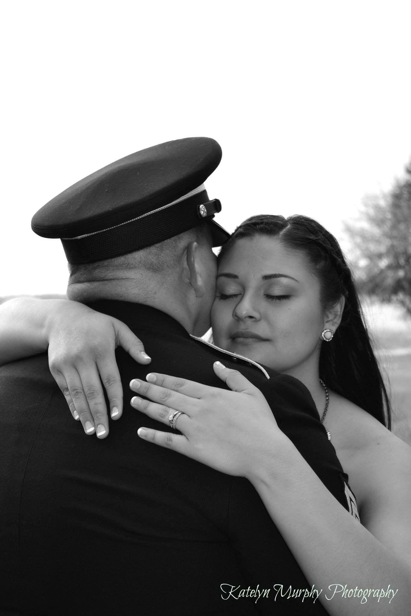 Black and white bride and groom #katelynmurphyphotography