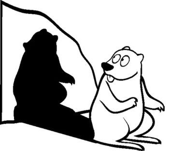Groundhog Day Coloring Pages Classroom Ideas Pinterest