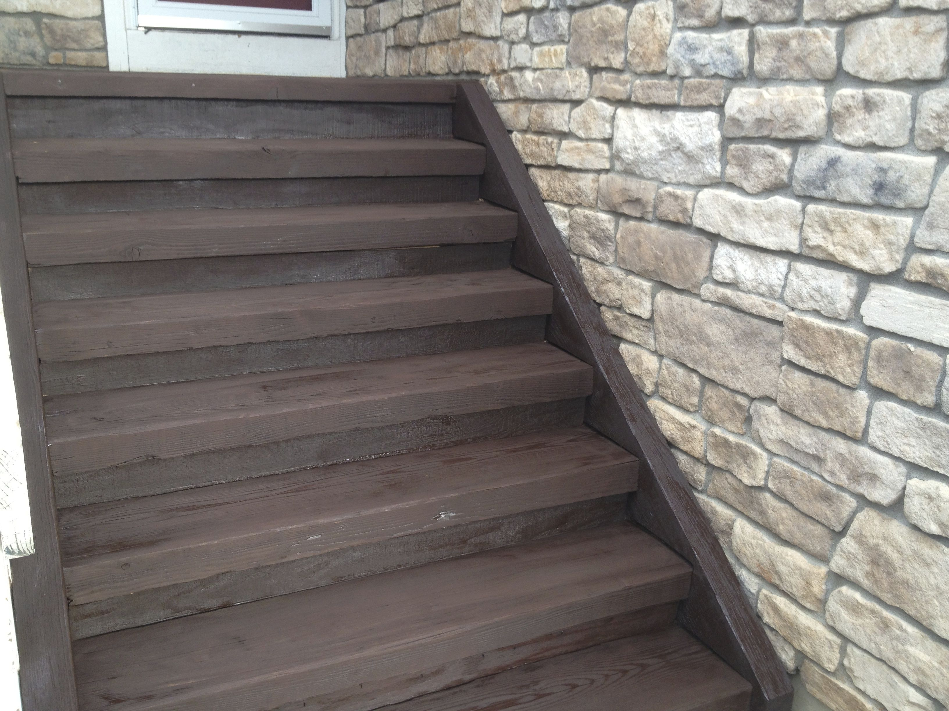 Cabot Deck Stain In Semi Solid Cordovan Brown Cedar Deck