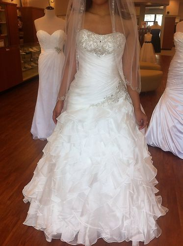 Alfred Angelo Princess Jasmine Disney Collection Wedding Dress ...