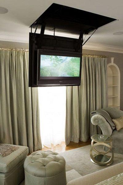 Esconder televisor eclairage pinterest televisor muebles para televisores y muebles para - Mueble tv habitacion ...