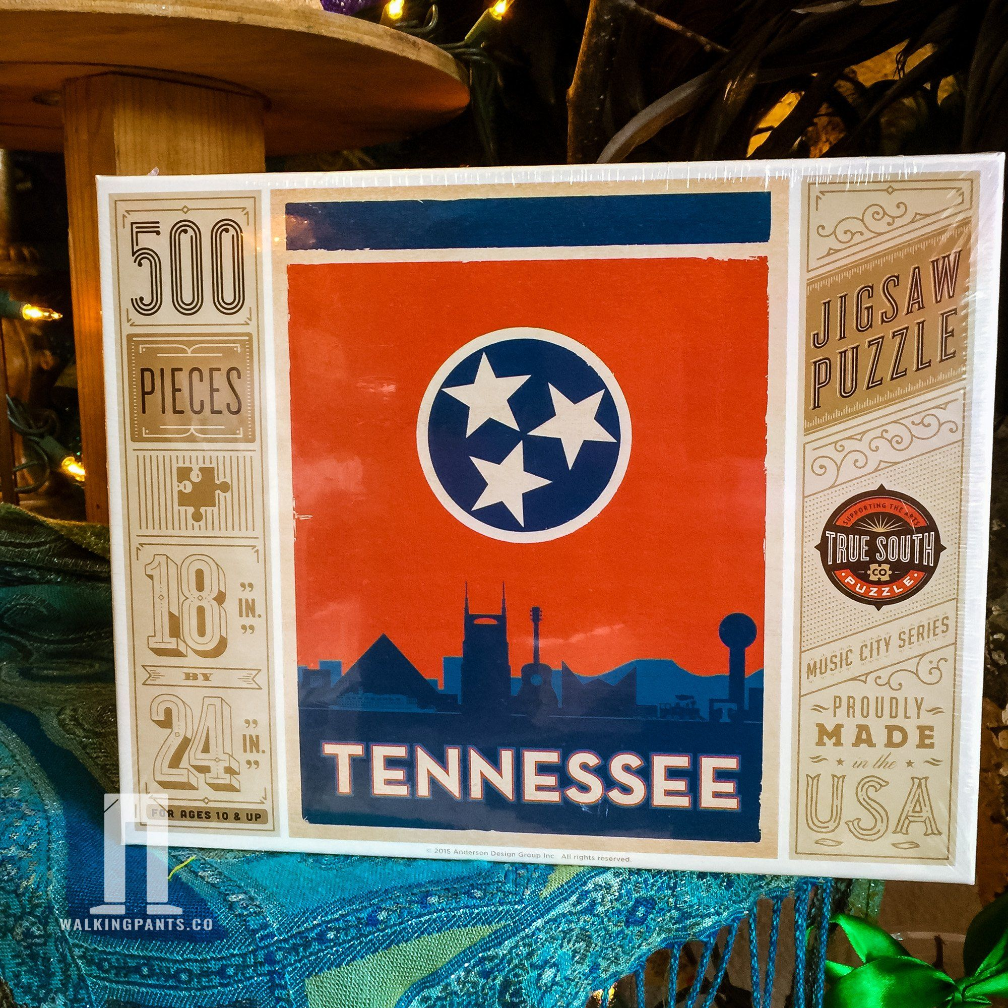 Tennessee State Flag 500 Piece Jigsaw Puzzle