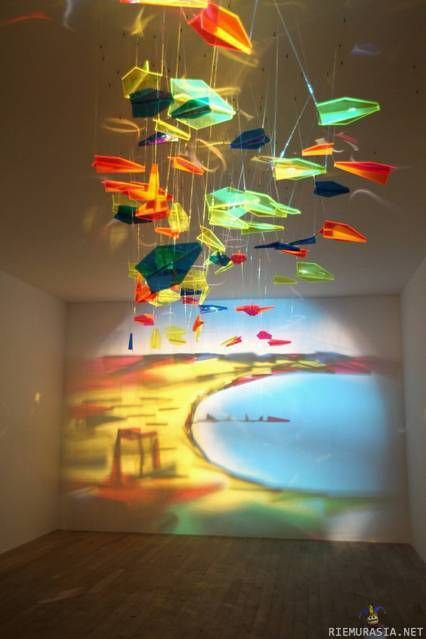amazing glass and light art