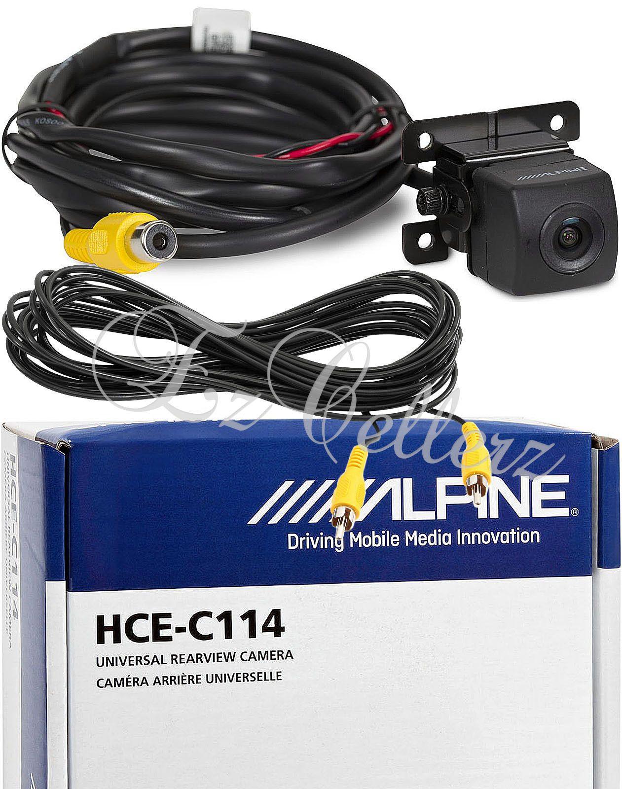 alpine backup camera wiring alpine reverse camera install wire alpine wiring harness pinout other car video alpine hce c114 rear view backup color cmos wide alpine reverse camera wiring