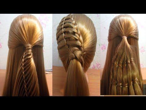 Peinados faciles  Peinados trenzas  Peinados de moda  EASY