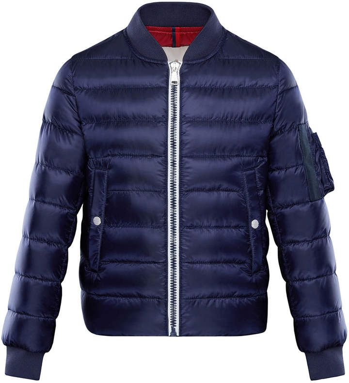 f5fc5e86e Moncler Aiden Quilted Bomber Jacket