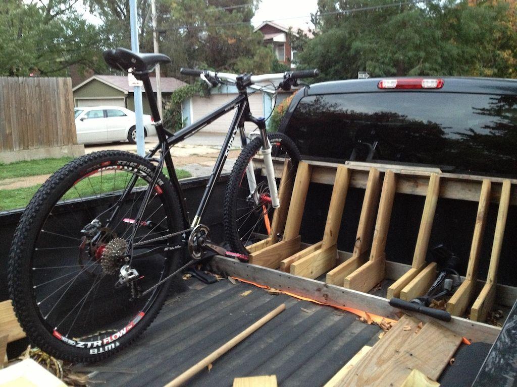 Brand New Build Truck Bike Rack Diy Bike Rack Bicycle Rack