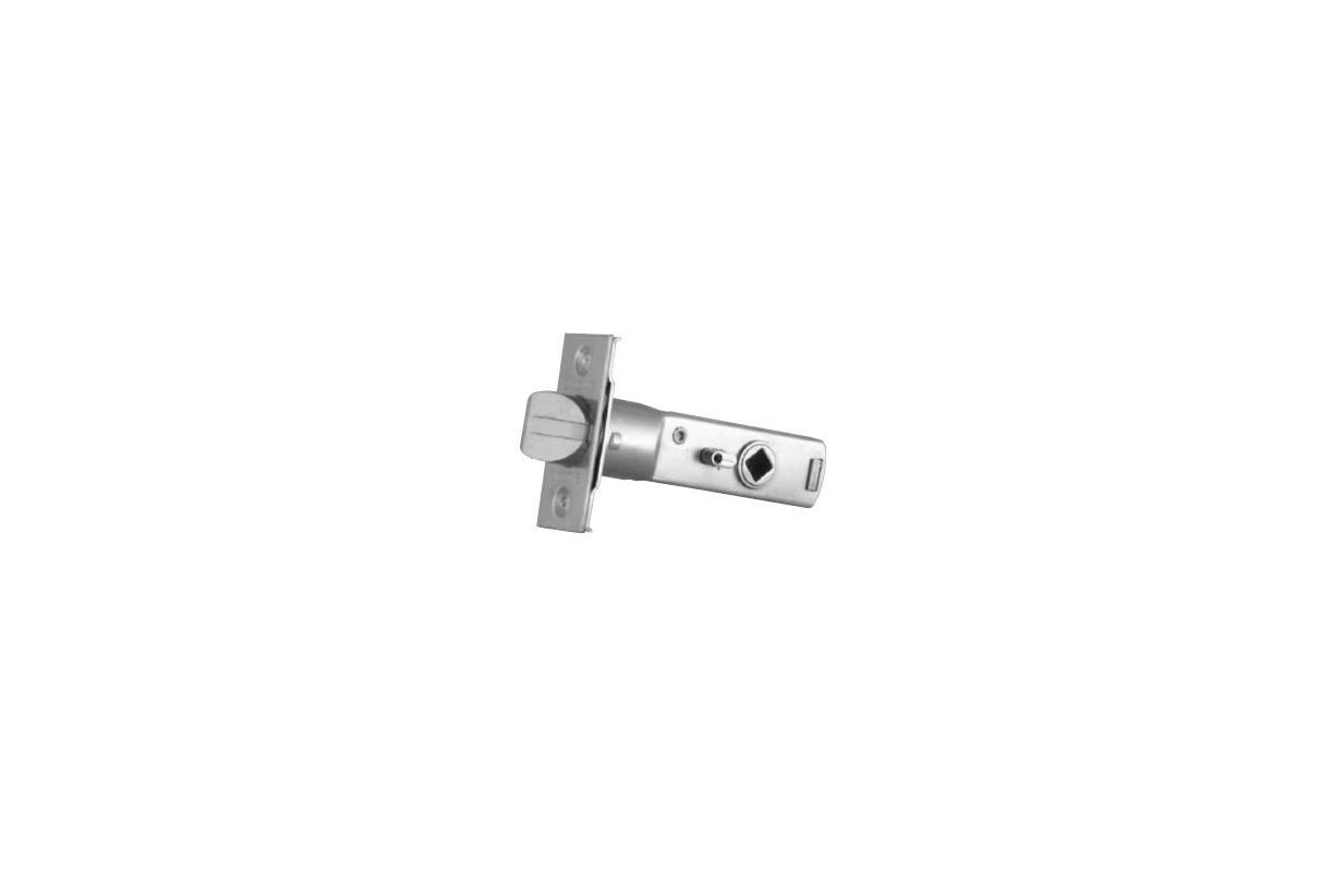 "Baldwin 5513.P Privacy Door Lever Latch for 2-3/8"" Backset Lifetime Polished Nickel Catches and Latches Door Latches Privacy"