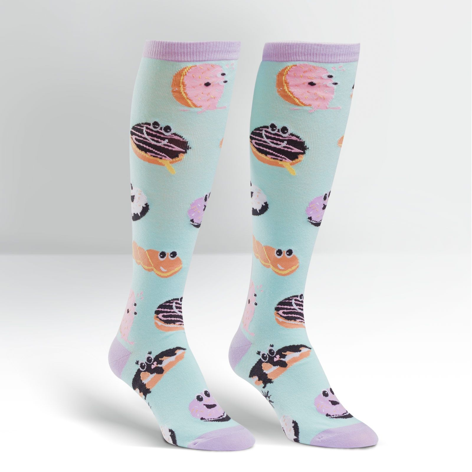 Sock It To Me Womens Knee High Funky Socks Animals