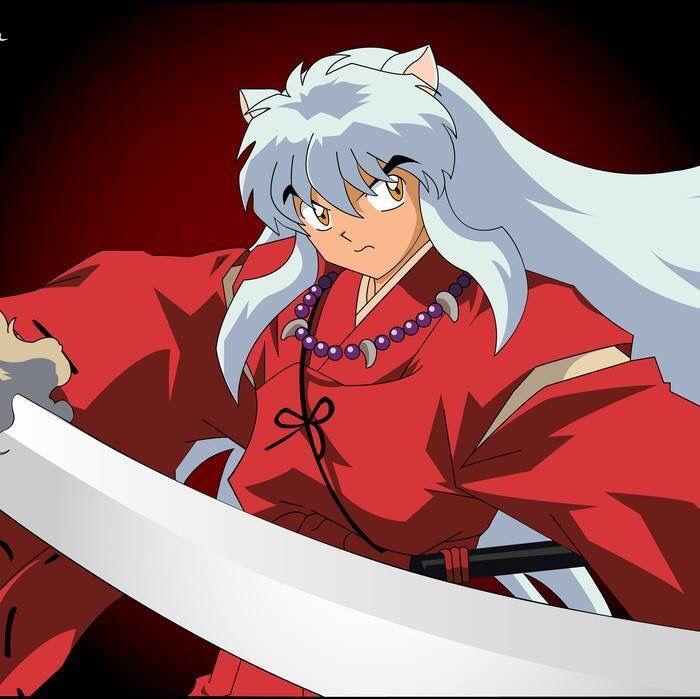 Inuyasha With His Demon Sword Inuyasha Inuyasha Anime Manga