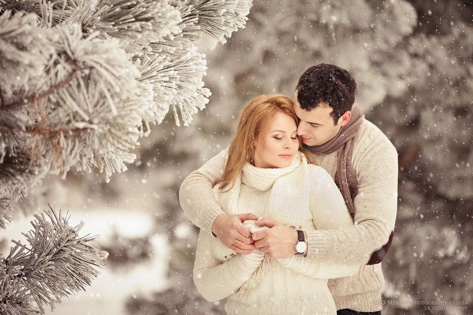 Романтичная картинки зимы