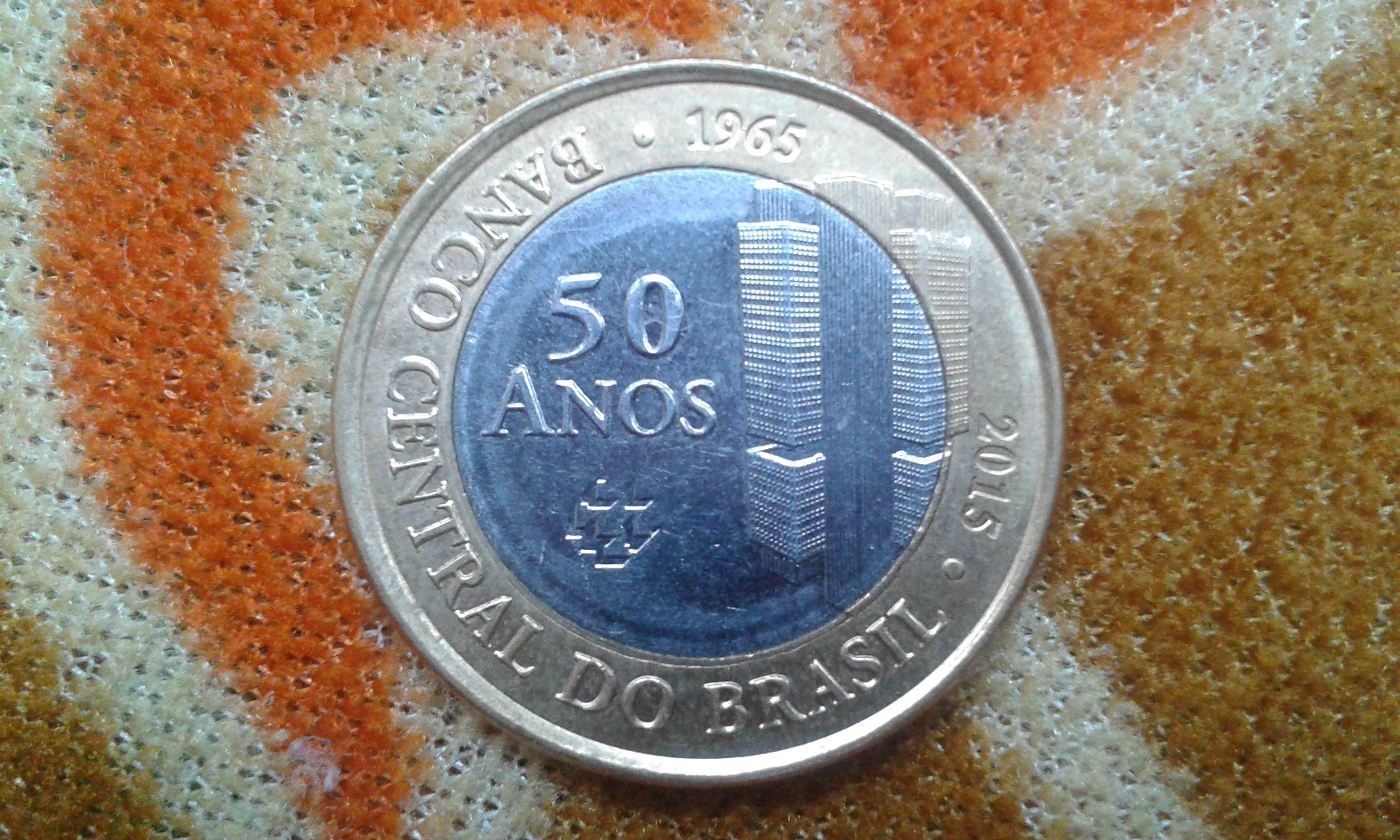 Moeda Rara Dos 50 Anos Do Banco Central Moedas Raras Moedas