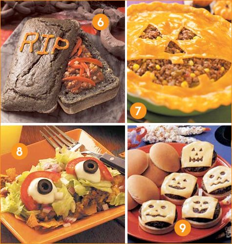 Creative Halloween Dinner Ideas that would work with the Witches Spell and  Wizards Magic fall themed buried treasure adventure stories.