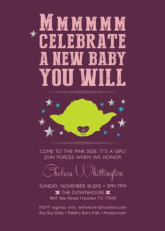 Tadandfaboo Baby New Baby Products Custom Invitations