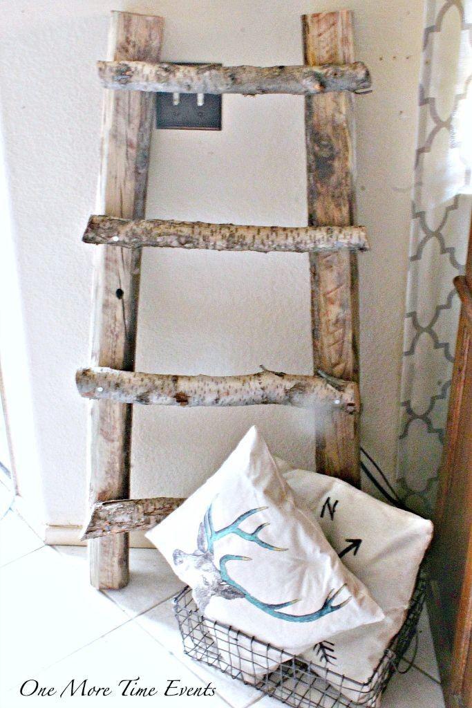 Diy Blanket Ladder Diy Crafts Diy Blanket Ladder