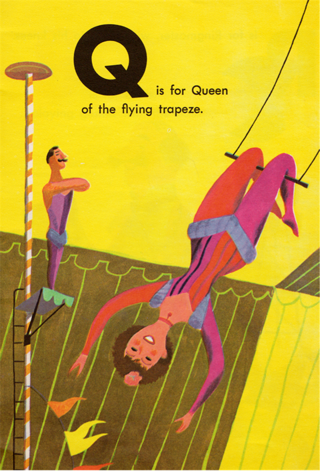Circus ABC - illustrated by J.P. Miller