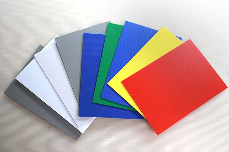 Polypropylene Plastic Core Flute Sheet Corrugated Plastic Sheets Hard Plastic Sheets Corrugated Plastic
